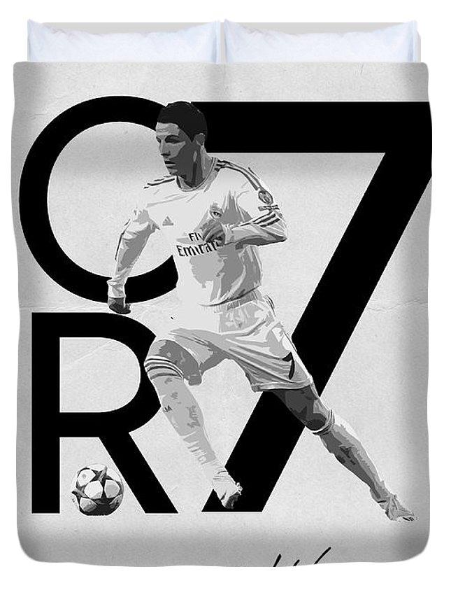 Cristiano Ronaldo Duvet Cover For Sale By Semih Yurdabak