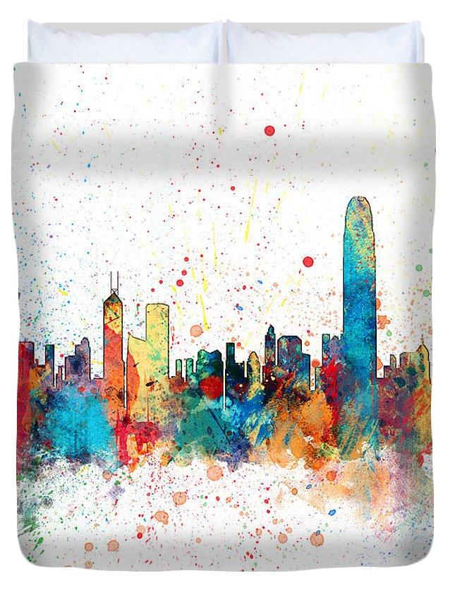 Hong Kong Duvet Covers