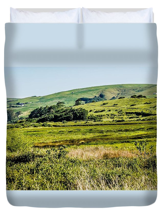 California Duvet Cover featuring the photograph Point Reyes National Seashore Coast On Pacific Ocean by Alex Grichenko