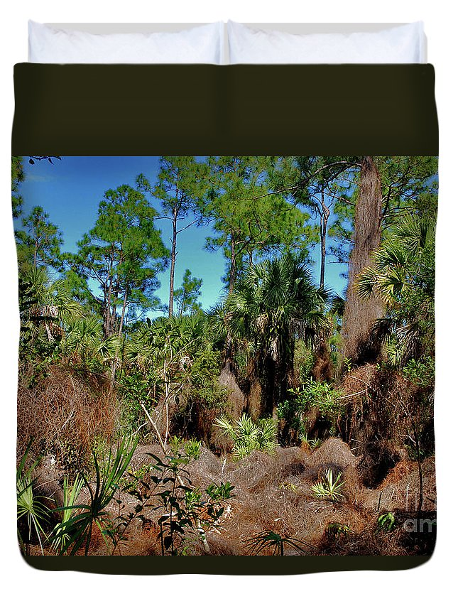 Duvet Cover featuring the photograph 55- Everglades Afternoon by Joseph Keane
