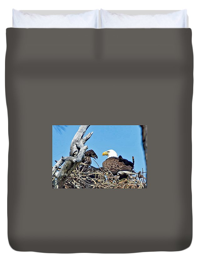 Duvet Cover featuring the photograph 5673 by Don Solari