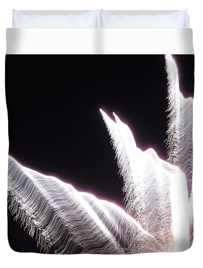 Star Duvet Cover featuring the photograph Entering The Twilight Zone by Faba Fouret