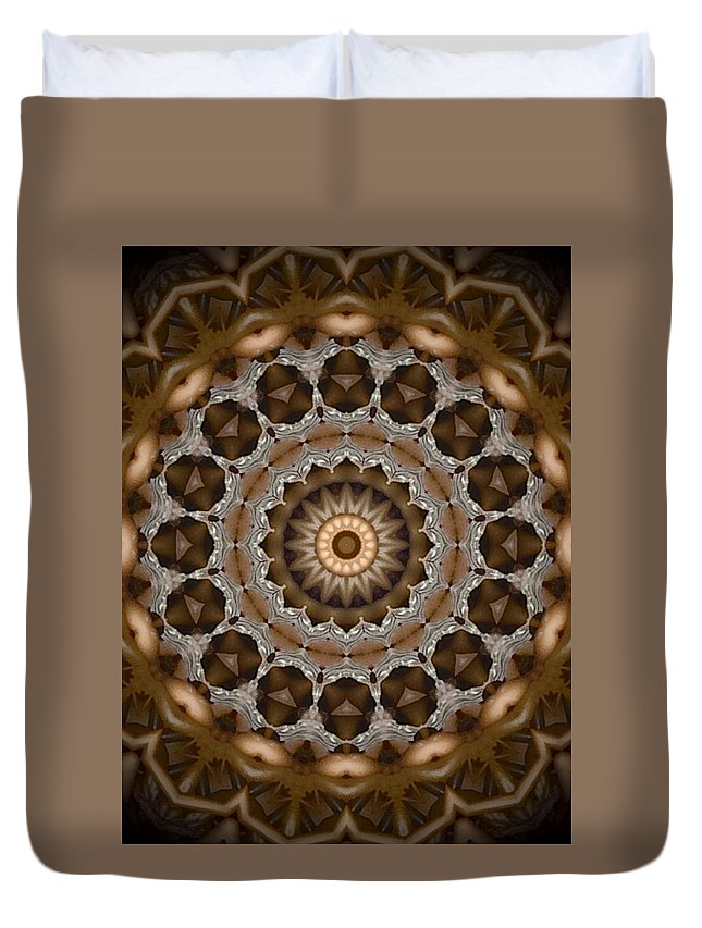 Kelp Duvet Cover featuring the digital art Kelp by Susan Ottevanger
