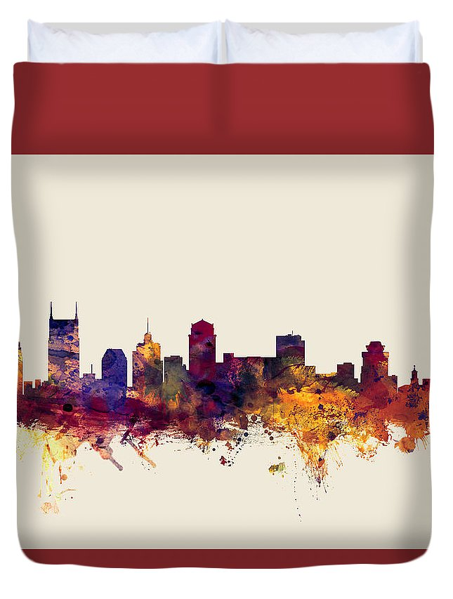Nashville Skyline Duvet Covers