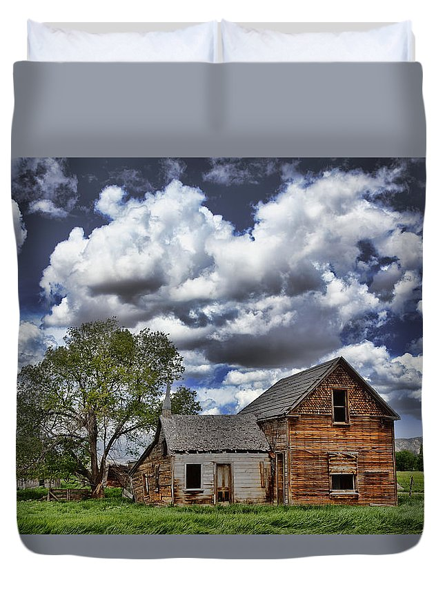 Americana Duvet Cover featuring the photograph Americana by Mark Smith