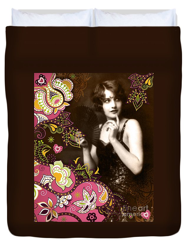 Nostalgic Seduction Duvet Cover featuring the photograph Goddess by Chris Andruskiewicz