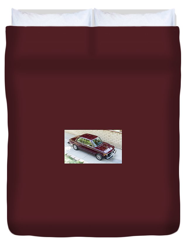 Bmw 2 Series Duvet Cover featuring the photograph BMW 2 Series by Mariel Mcmeeking