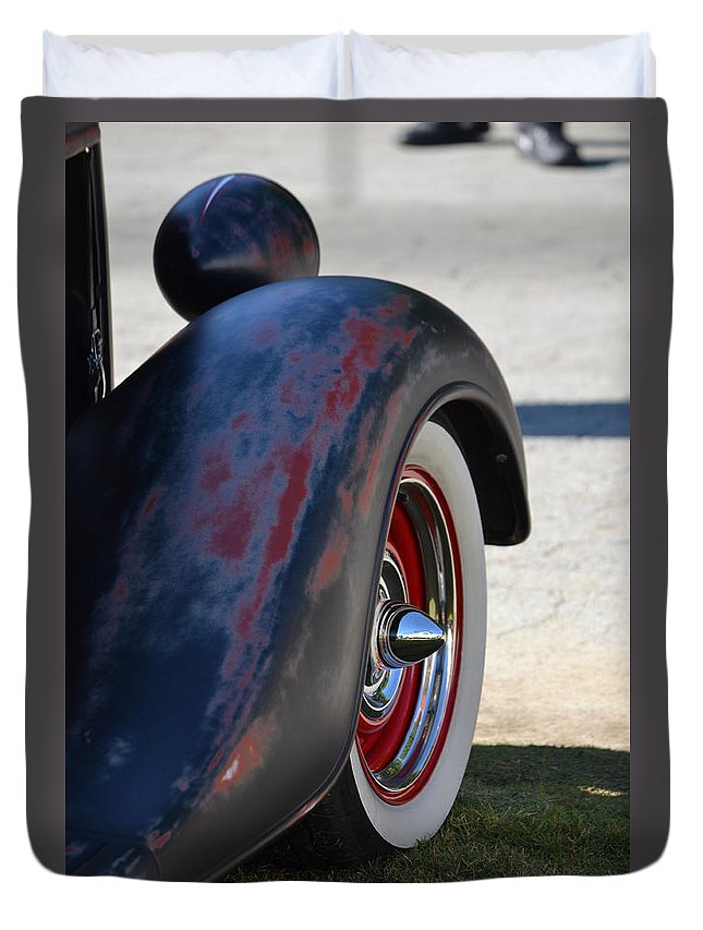 Duvet Cover featuring the photograph Classic Ford Pickup by Dean Ferreira