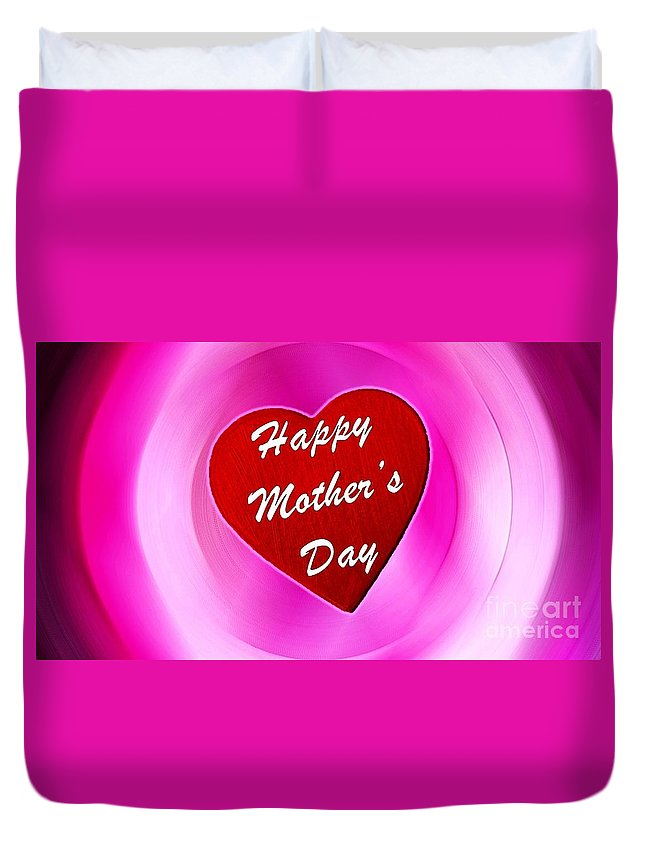 Witchcraft Duvet Cover featuring the digital art Mother's Day by Frederick Holiday