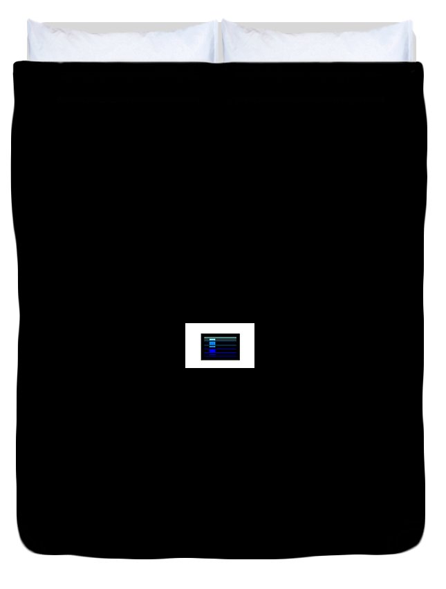 Duvet Cover featuring the digital art 70 by Armand Trawick