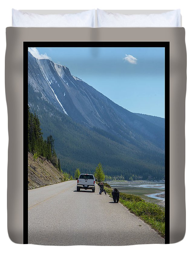 Duvet Cover featuring the photograph 8 by J and j Imagery