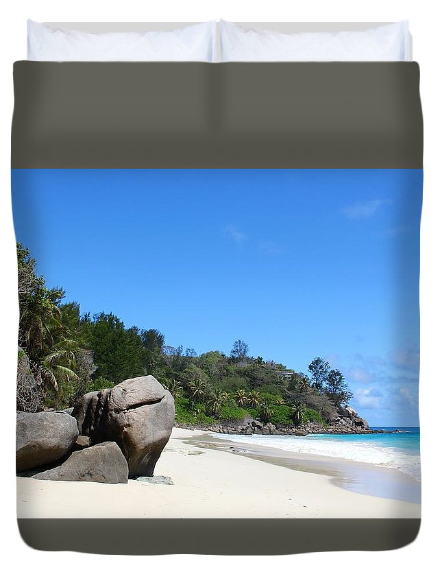 Beach Duvet Cover featuring the photograph Beach by FL collection