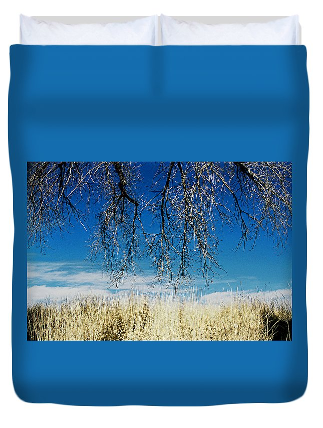Nature Duvet Cover featuring the photograph A Comfortable Place by Ric Bascobert