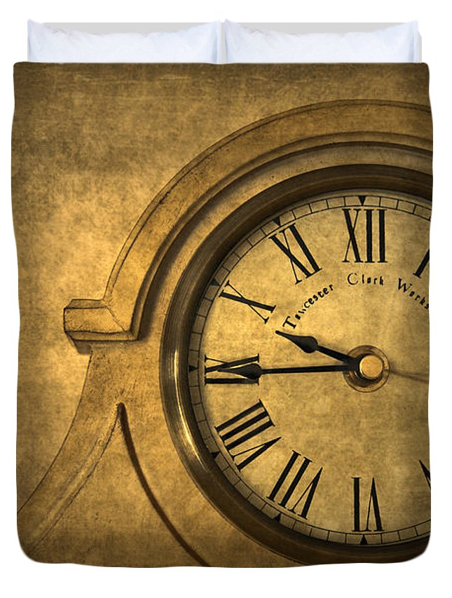Time Duvet Cover featuring the photograph A Moment in Time by Evelina Kremsdorf