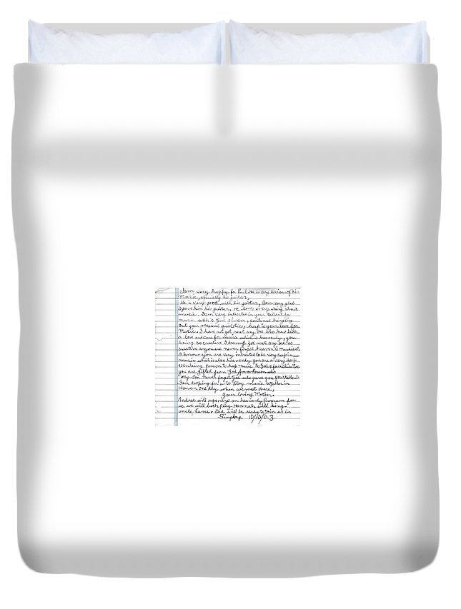 Mother Duvet Cover featuring the photograph A Mothers Last Words To Her Son Me by Paul SEQUENCE Ferguson       sequence dot net