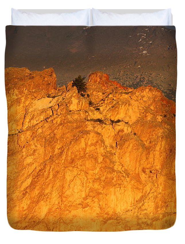 Colorado Duvet Cover featuring the photograph A Place In The Sun by Eric Glaser