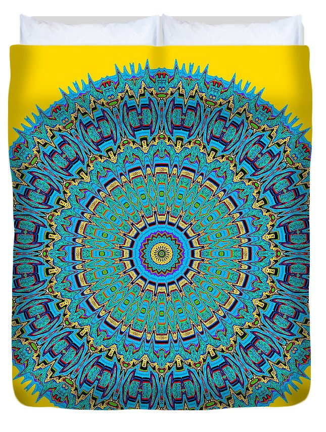Digital Duvet Cover featuring the digital art A Thing Of Beauty by Joy McKenzie