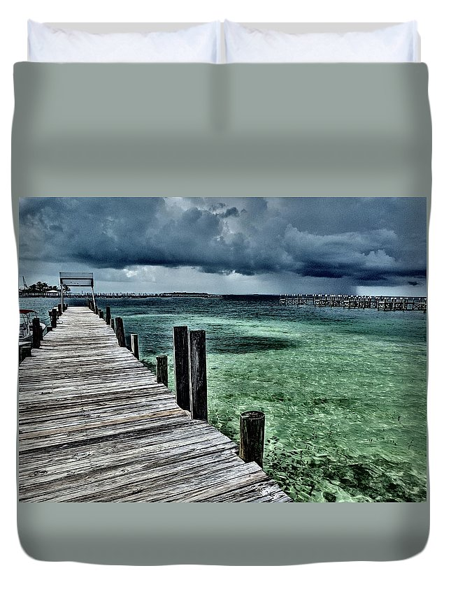 Caribbean Duvet Cover featuring the photograph Abaco Islands, Bahamas by Cindy Ross