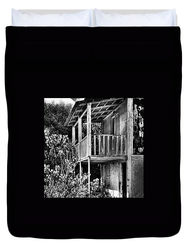 Amazing Duvet Cover featuring the photograph Abandoned, Kalamaki, Zakynthos by John Edwards