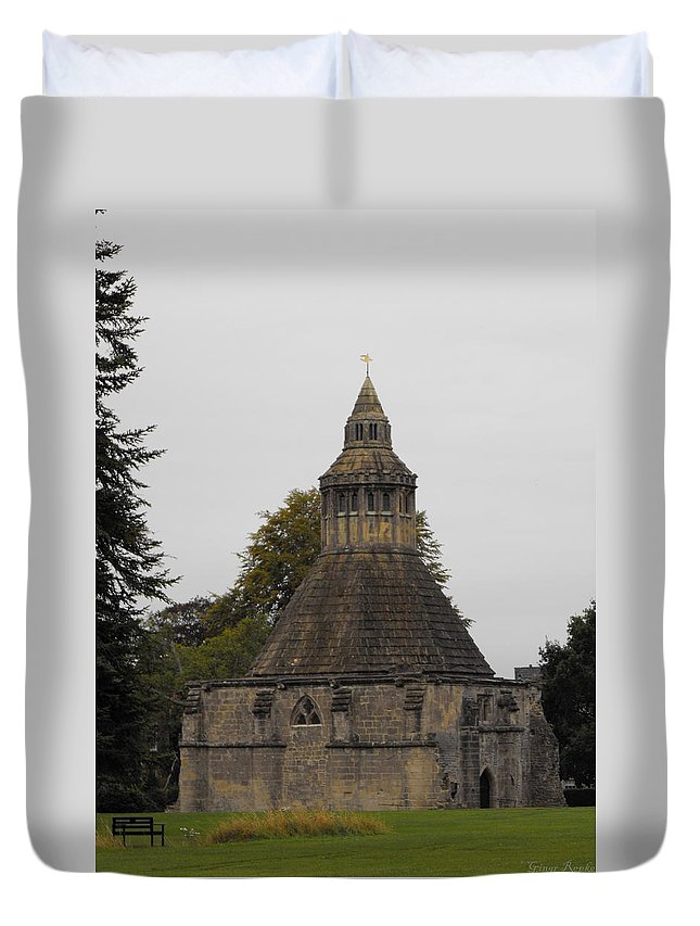 Abbot's Kitchen Duvet Cover featuring the photograph Abbot's Kitchen by Ginger Repke