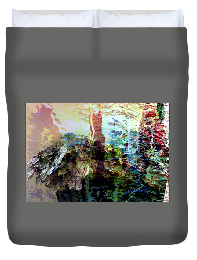Abstract Digital Painting Duvet Cover featuring the digital art Abstract 339 by Jimmie Canady