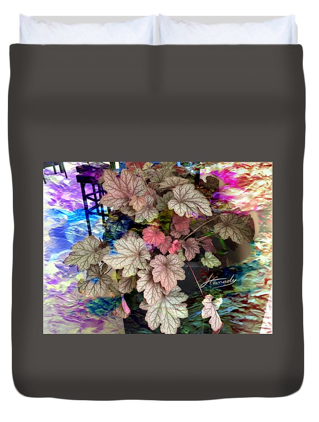 Abstract Digital Painting Duvet Cover featuring the digital art Abstract 340 by Jimmie Canady