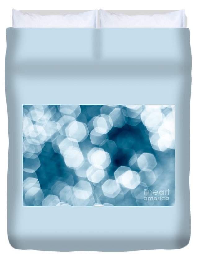 Abstract Duvet Cover featuring the photograph Abstract Background by Gaspar Avila