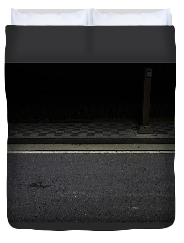 Duvet Cover featuring the photograph Untitled by Raphael Ean