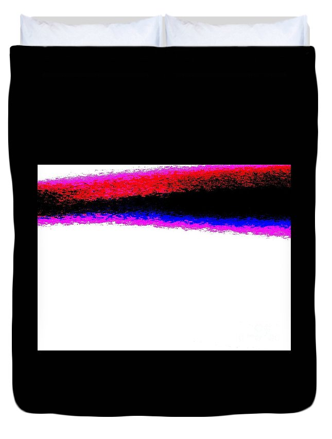 Abstract Wall Piece Duvet Cover featuring the photograph Abstract Wall Piece 70 by Tim Townsend