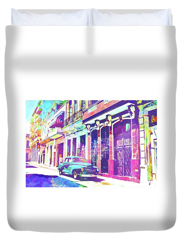 Spanish Colonial Mixed Media Duvet Covers
