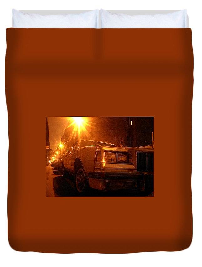 Car Duvet Cover featuring the photograph Acchzst.krly by Atilla Vegh