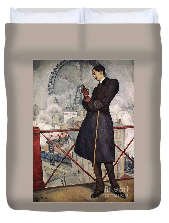 1913 Duvet Cover featuring the photograph Adolfo Best-maugard by Granger