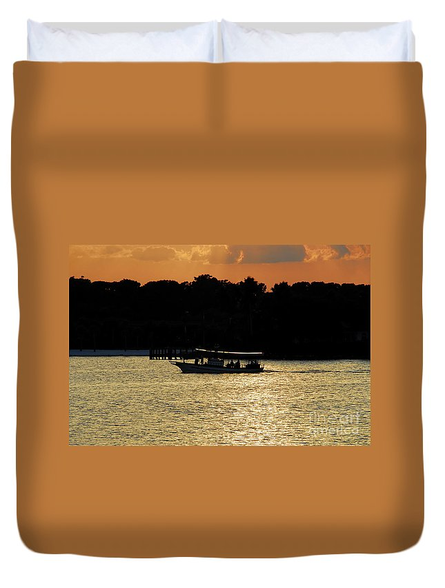 Adventure Travel Duvet Cover featuring the photograph Adventure Travel by David Lee Thompson