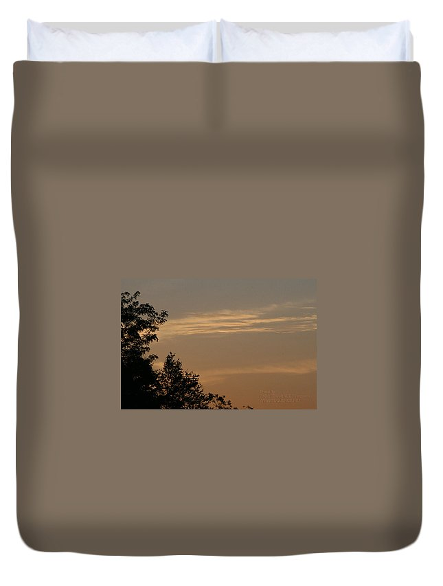 Sky Duvet Cover featuring the photograph After The Rain by Paul SEQUENCE Ferguson       sequence dot net