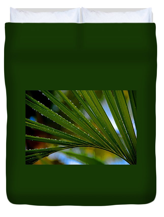 Photography Duvet Cover featuring the photograph After The Rain by Susanne Van Hulst
