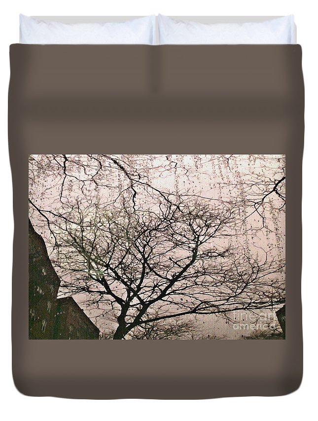 Rain Duvet Cover featuring the photograph Afternoon Rain by Sarah Loft