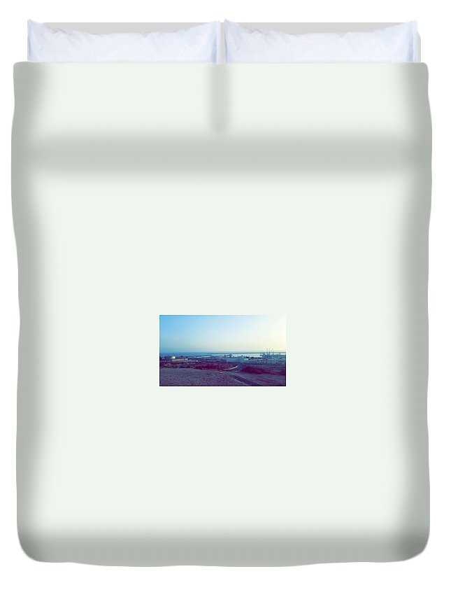 Nature Duvet Cover featuring the photograph Agadir Nature by Hassan Boumhi