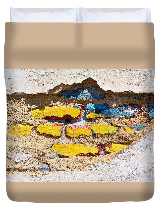 Bricks Duvet Cover featuring the photograph Ah Daylight by Josephine Buschman