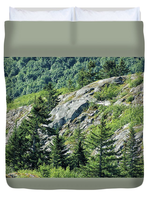 Alaska Duvet Cover featuring the photograph Alaskan Wilderness by Maria Keady