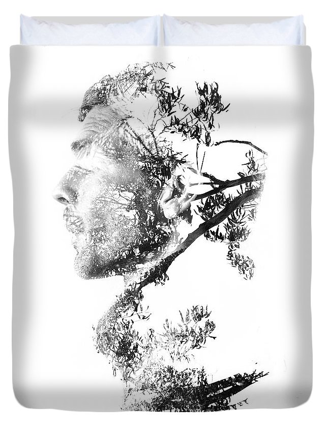 Exposure Duvet Cover featuring the photograph All Is One by Jorgo Photography - Wall Art Gallery