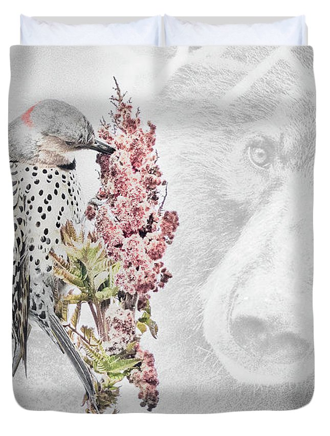 Northern Flicker Photographs Duvet Covers