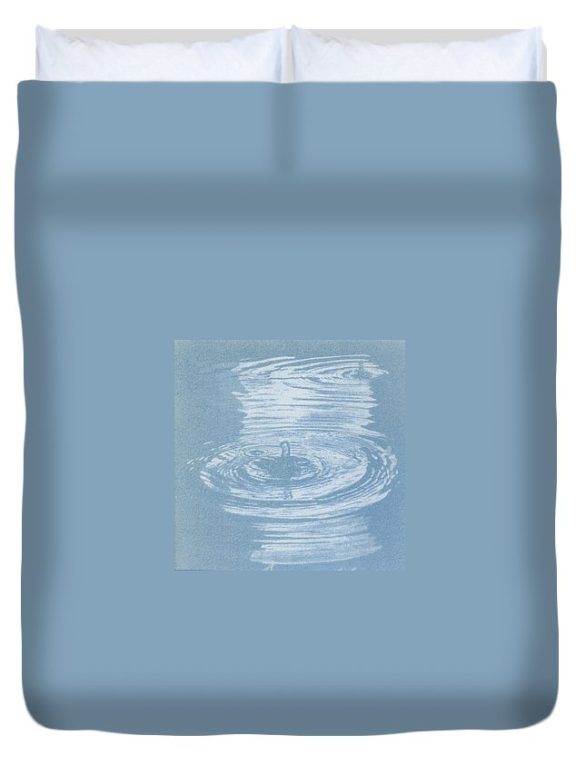 Water Duvet Cover featuring the photograph All One by Casper Cammeraat