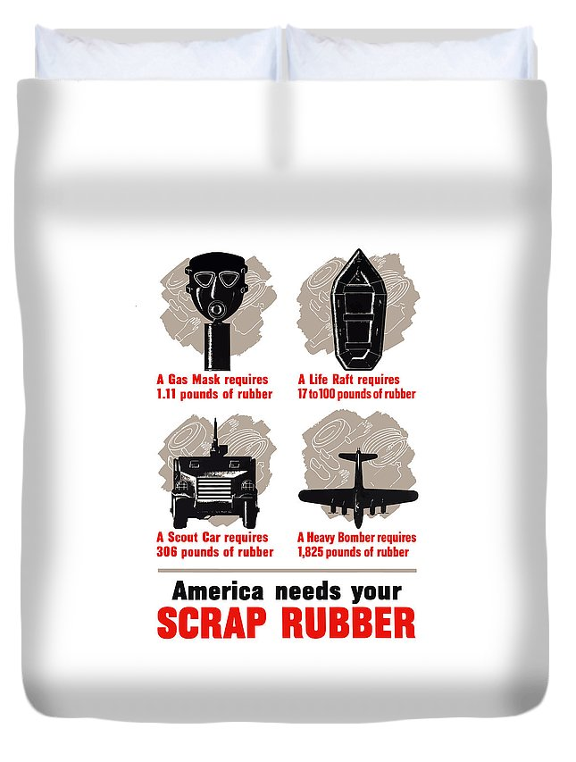 Designs Similar to America Needs Your Scrap Rubber