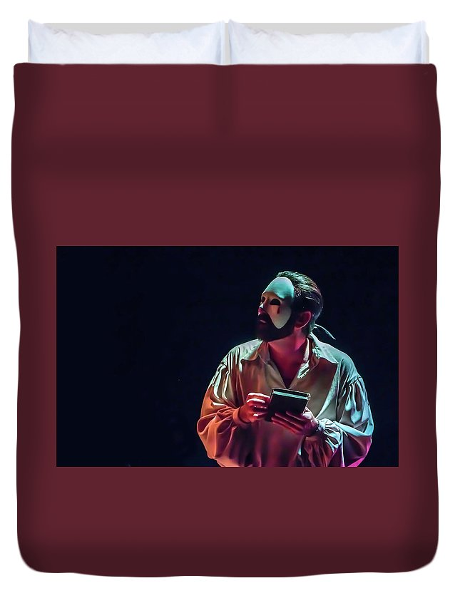 Live Theater Duvet Cover featuring the photograph American Phantom by Alan D Smith
