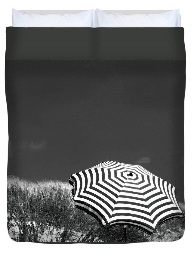 Beach Duvet Cover featuring the photograph An English Summer by Dorit Fuhg