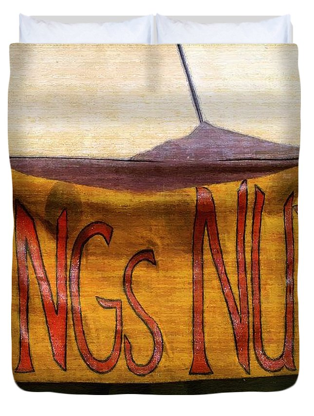 Bar Duvet Cover featuring the painting An Extraordinary Ordinary by RC DeWinter