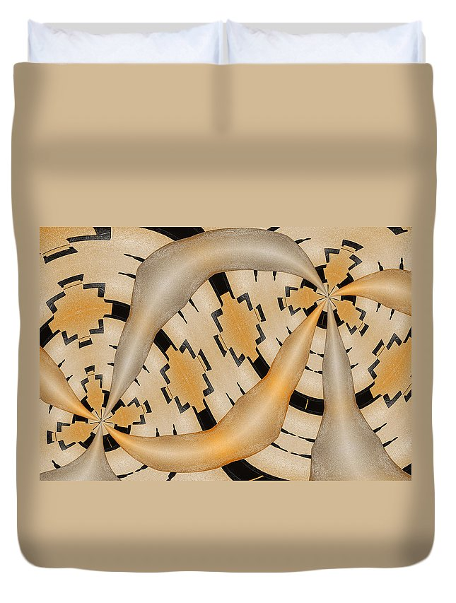 Photography Duvet Cover featuring the photograph Aneurysm by Paul Wear