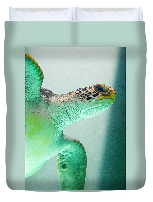 Skip Hunt Duvet Cover featuring the photograph Angel 2 by Skip Hunt