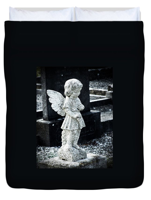 Ireland Duvet Cover featuring the photograph Angel In Roscommon No 3 by Teresa Mucha