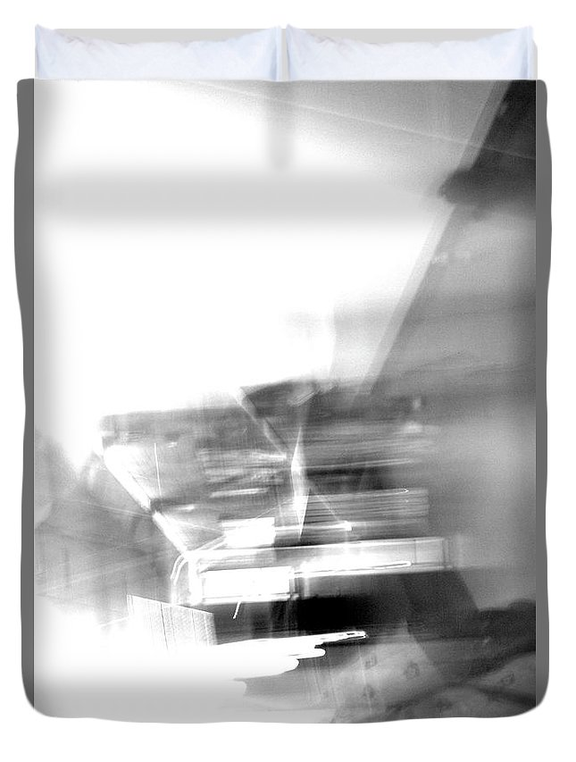 Photography Duvet Cover featuring the photograph Anniversary by Malachai Marzolf